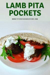 Lamb Pita Pockets