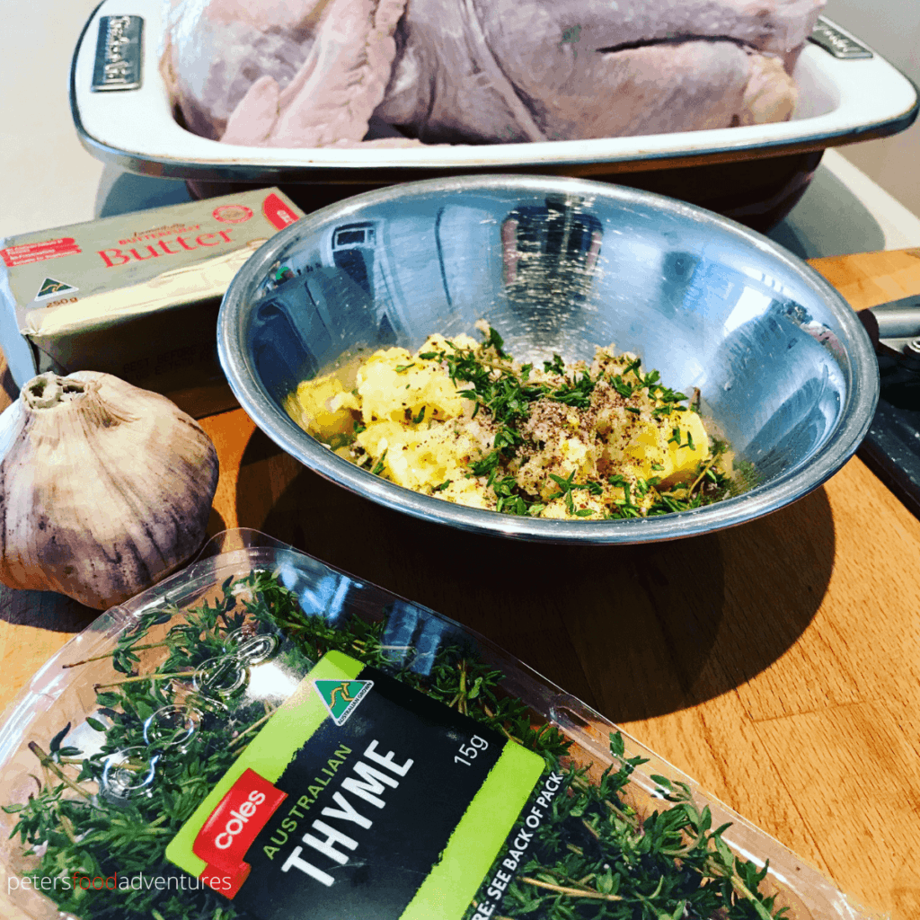 herb butter for turkey ingredients