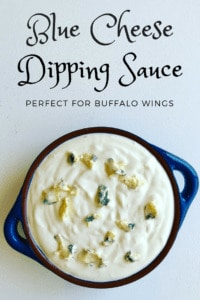 Homemade Blue Cheese Dipping Sauce