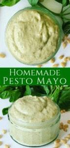 Homemade Pesto Mayo