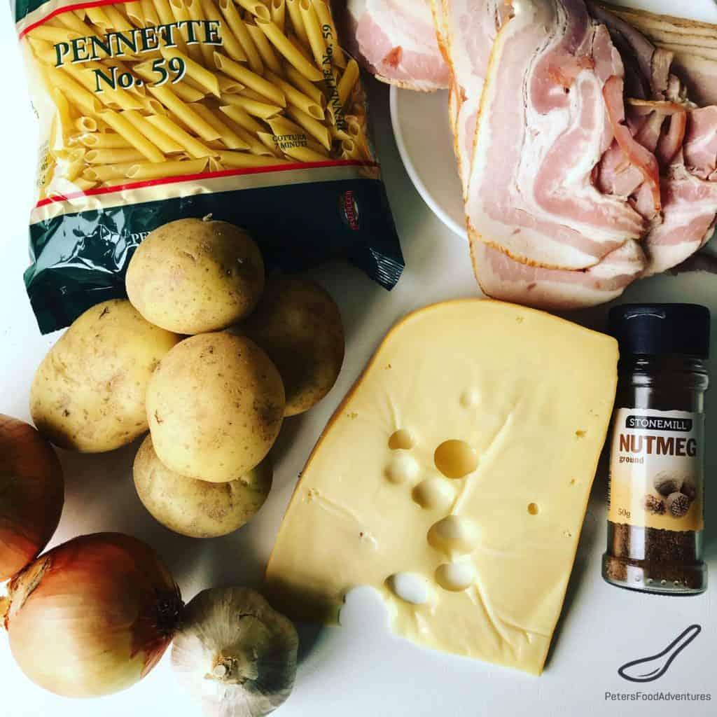 Alplermagronen ingredients