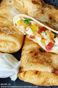 Russian Stuffed Crepes