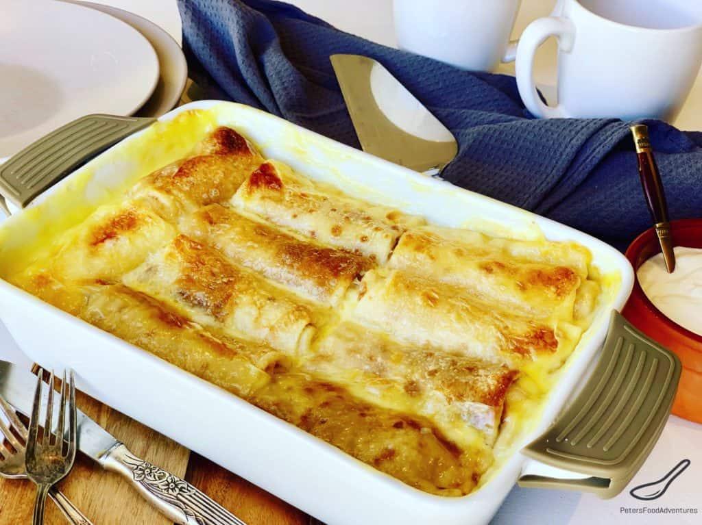 Cheese Blintz Casserole