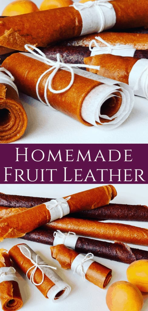 Homemade Fruit Leather (Пастила)