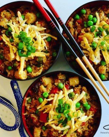 Keto Cauliflower Rice