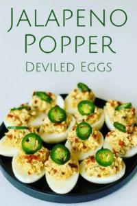 Jalapeno Popper Devilled Eggs