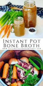 Pinterest Pin Instant Pot Bone Broth