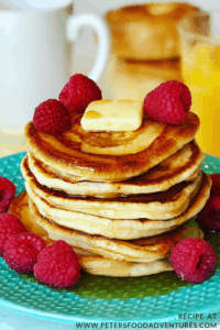 Pancake Stack on a breakfast table