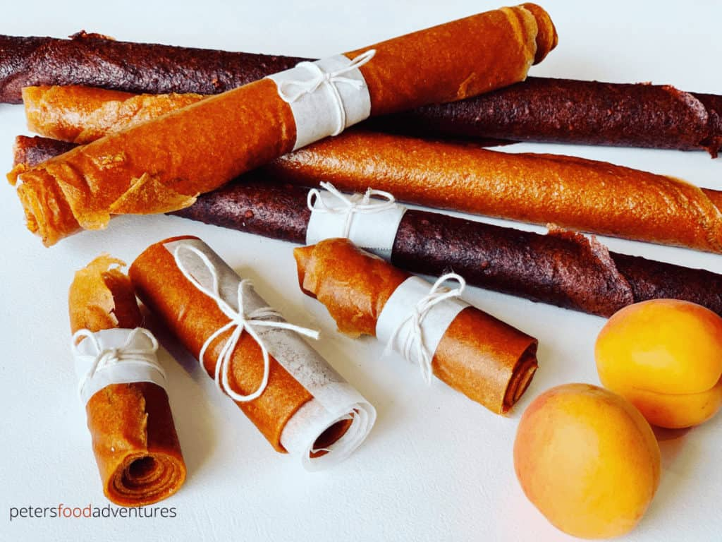 Homemade Fruit Leather recipe made from Apricots or Plums. Naturally sun dried without any nasty ingredients. A healthy and tasty snack for your family.