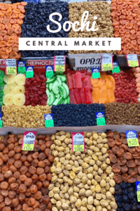 Sochi Central Market Dried Fruits