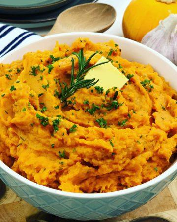 Savory Mashed Sweet Potato