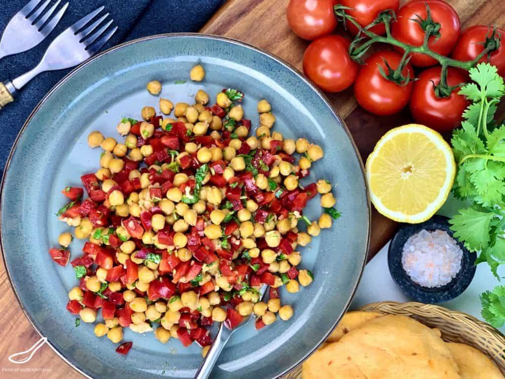 Roasted Chickpea Salad Recipe