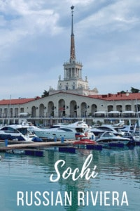 See Sochi's Marina on the Russian Riviera