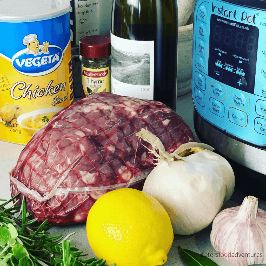 instant pot lamb ingredients