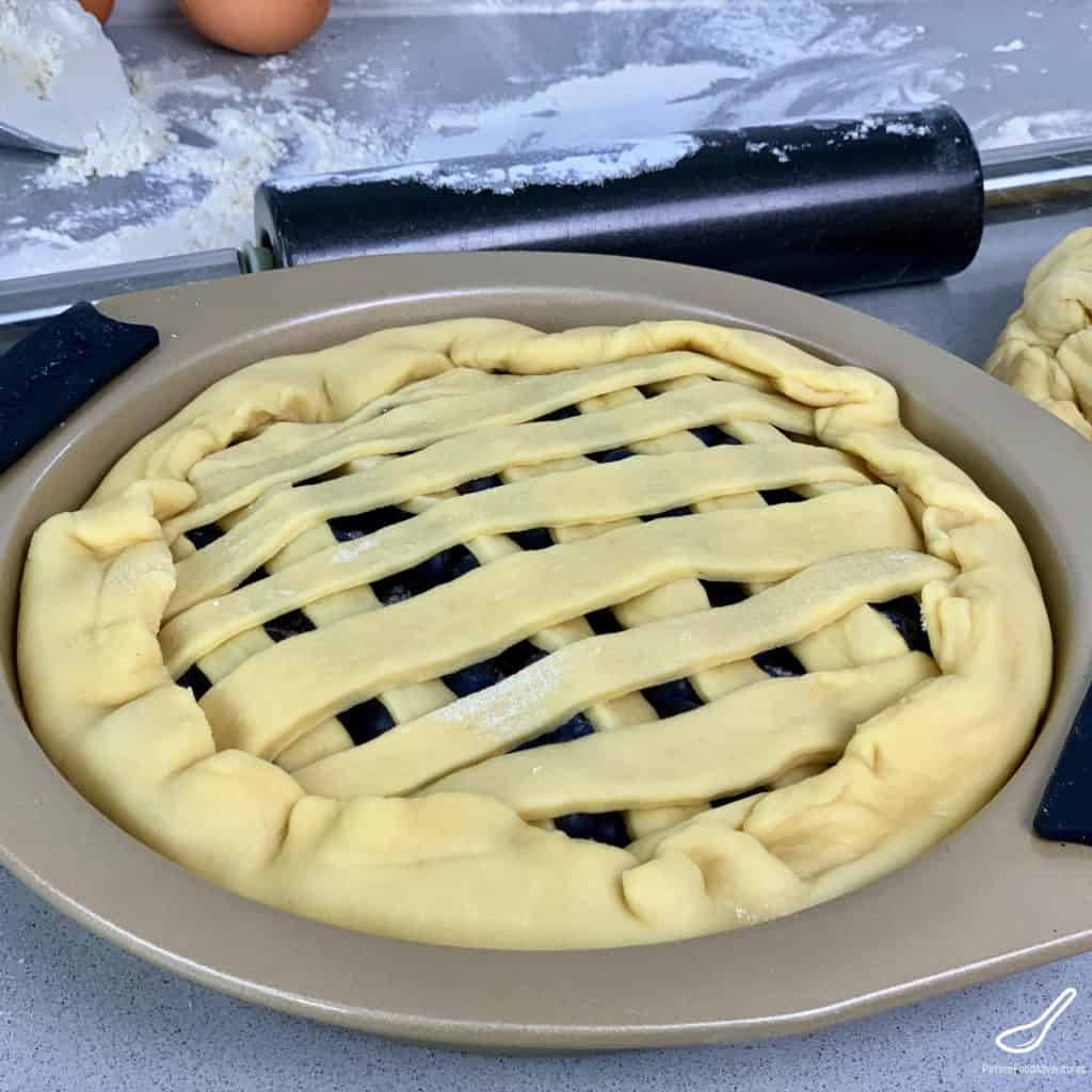 Uncooked Lattice Pie