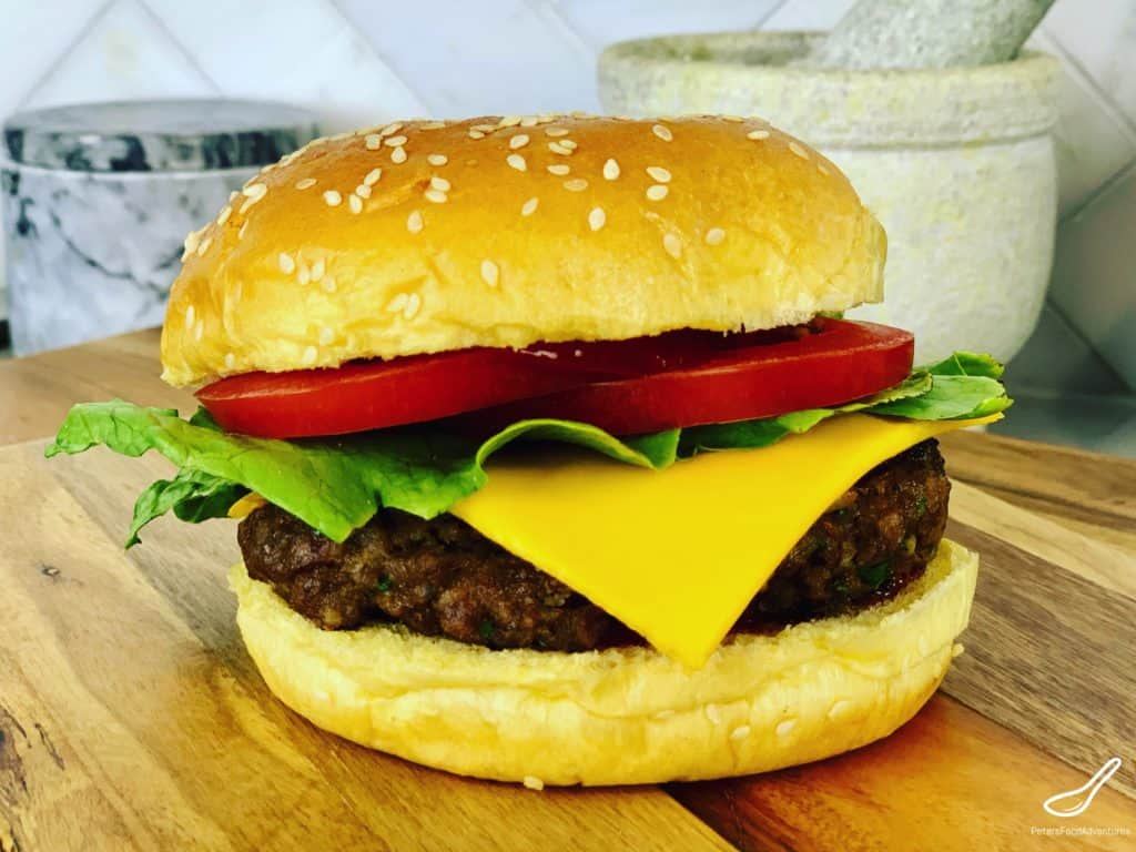 This Kangaroo burgers recipe is juicy and full of flavor, made with my secret ingredient Kefir! Low in fat, high in protein and vitamins, you probably won't even realize it's kangaroo! Barbecue a bit of Australia for dinner tonight!