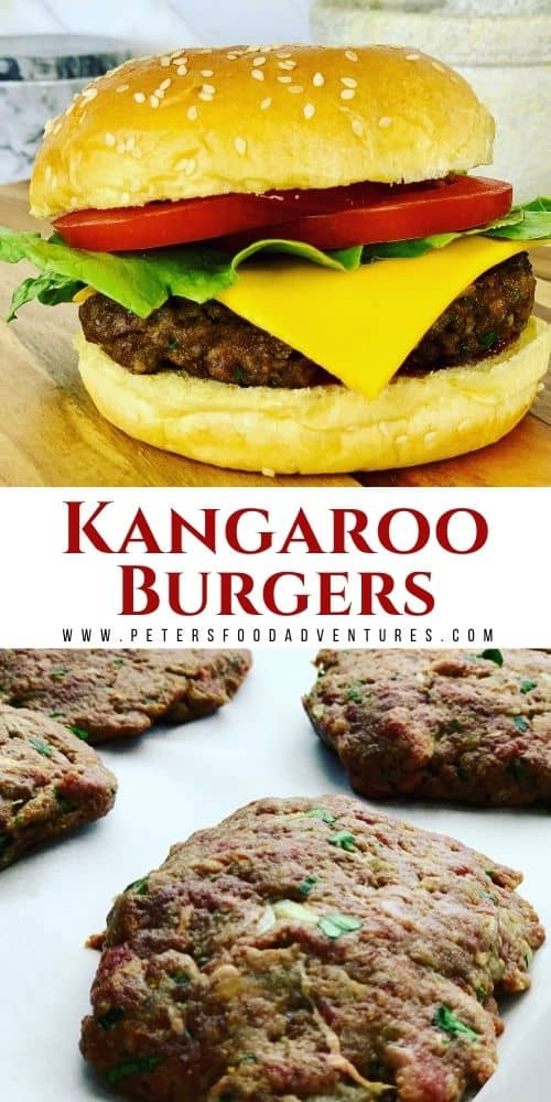 This Kangaroo burger recipe is juicy and full of flavor, made with my secret ingredient Kefir! Low in fat, high in protein and vitamins, you probably won't even realize it's kangaroo! Barbecue a bit of Australia for dinner tonight!