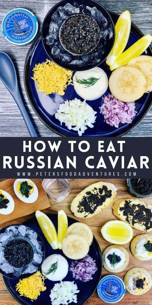 Nothing says luxury like caviar, perfect for all sorts of party celebrations from New Years to an intimate Valentines Day indulgence. If you ever wondered how to eat caviar the Russian way, then this post is for you. 4 different ideas to enjoy caviar.